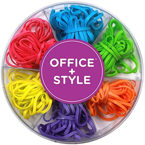 colored rubber bands office style colored rubber bands with lid storage