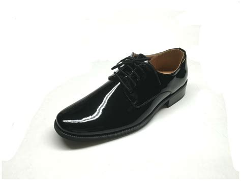 mens tuxedo formal dress shoes patent leather sz 6 5 15 in black ebay