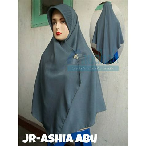 Segiempat Polos Warna Putih Best Office jual jilbab semi instan syar i ashia jilbab raudhah