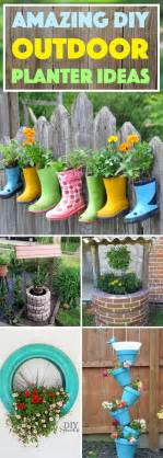 Diy Planters 20 amazing diy outdoor planter ideas to make your garden