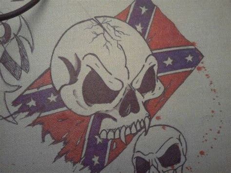 rebel flag and skull wallpaper pinterest flags