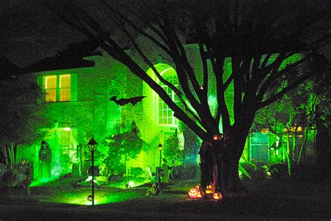 light fright seven unusual halloween light displays