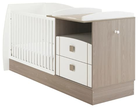 Changing Table For Cot Jules Convertible Compact Cot With Storage Drawers And Changing Table Modern Cots Cribs And