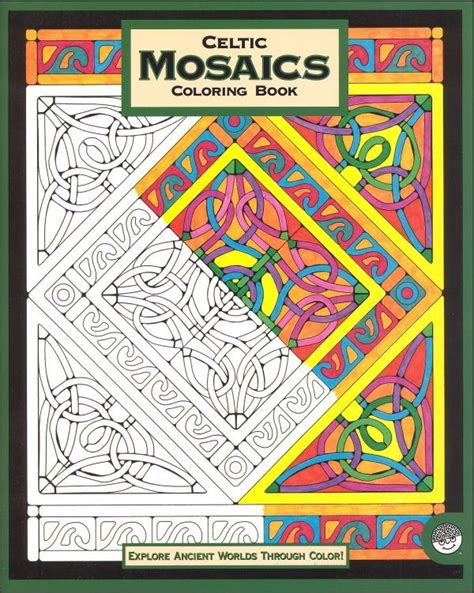 mosaic pattern colouring book mosaic coloring books