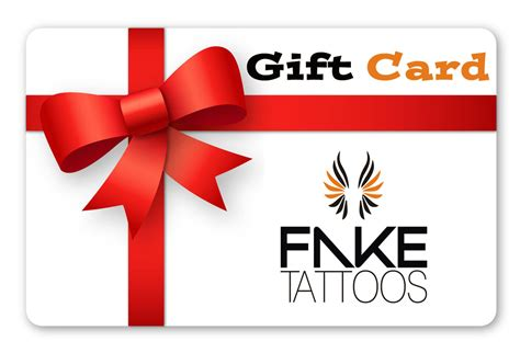 tattoo gift card tattoos scandinavian temporary tattoos gift card