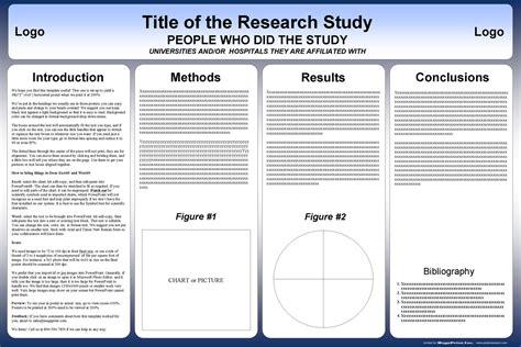 powerpoint scientific poster template research poster template mobawallpaper