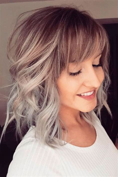 Hairstyles Hair With Bangs by 21 Popular Fringe Bangs Hairstyles For Bangs Hair
