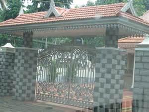 kerala home gates design colour kerala gate designs gate with kerala style padippura