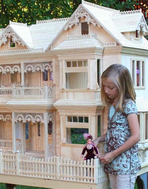 barbie house plans victorian dollhouse
