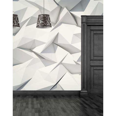Carta Da Parati Geometrica by Carta Da Parati Geometrica Floreale 3d Arredamentomd It