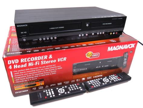 dvd cassette player magnavox model zv427mg9 hdmi dvd player vcr vhs cassette