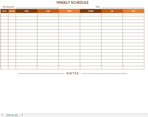 excel spreadsheet template  scheduling spreadsheet