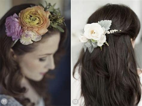 Wedding Hairstyles Using Flowers by 50 Wedding Hairstyles Using Flowers
