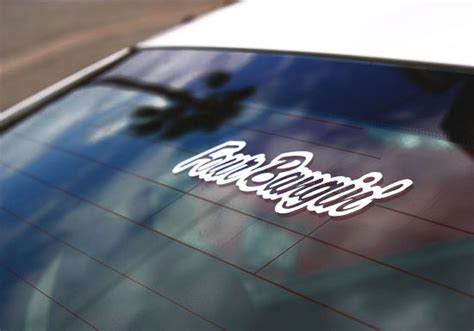 Cutting Stiker Jdm Hella Racing Sticker Kaca Pintu Mobil 10 Four Bangin Jdm Cool Stance Drifting Race Car Window Sticker