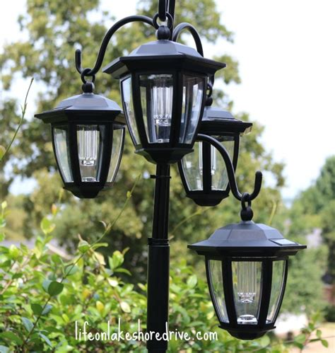 Hometalk Easy Diy Solar Lights L Post With Flower Planter How To Make Solar Light