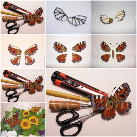 paper quilling tutorial step by step how to make beautiful quilled butterfly step by step diy