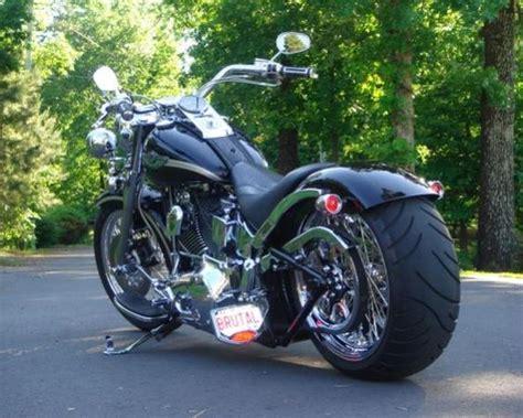 custom boy fatboy custom wheels wide tire kit for fatboy harley