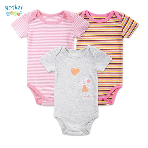 Bodysuits Baby 3 3 Pieces Lot Baby Bodysuit New Arrivals 2016 Summer Style