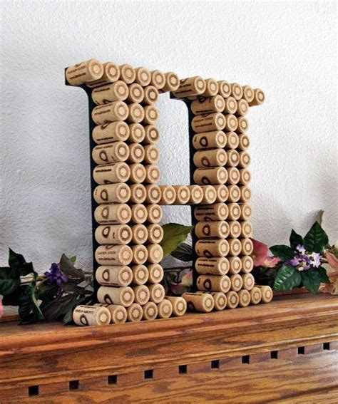 Wine Cork Initial A Door 66 Best Images About Homey Bits On Stove Fireplaces And Blue Bathrooms