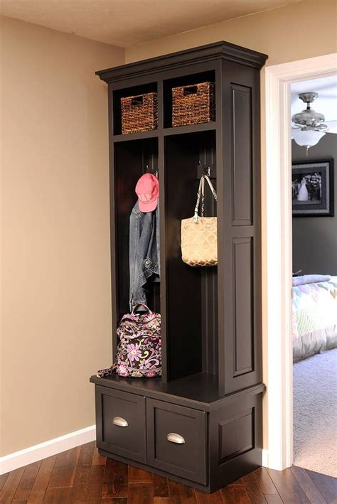 slim entryway storage foyer coat rack narrow stabbedinback foyer decorate