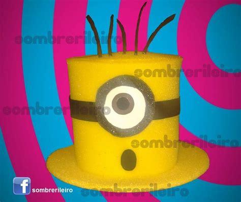 sombrero de minions sombrero de hule espuma manualidades goma eva