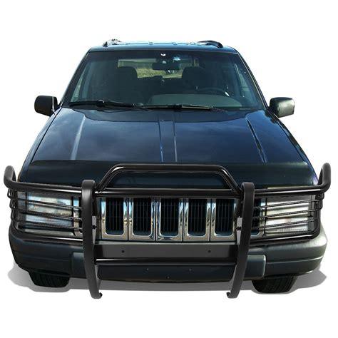 jeep bumper grill 93 98 jeep grand zj front bumper protector brush