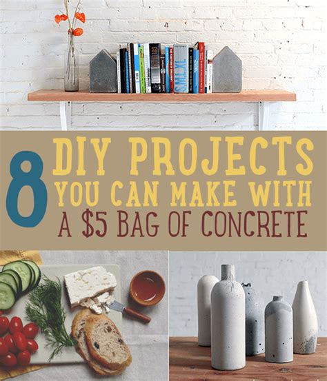 concrete craft projects cement crafts ideas