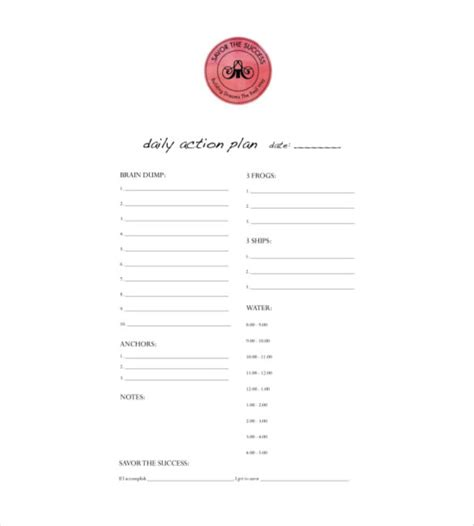 daily planner pdf download daily planner template pdf budget template free