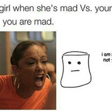 Mad Woman Meme - when you re mad vs your girl memes com