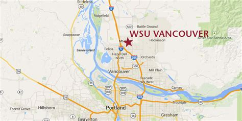 Wsu Tri Cities Mba Program by Where Is Wsu Vancouver Wsu Vancouver