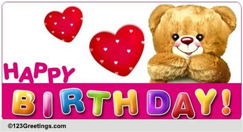 Happy Birthday Wishes To Small Kid Happy Birthday Free For Kids Ecards Greeting Cards 123