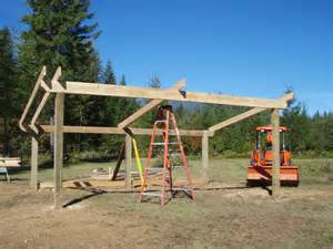 Free Pole Barn House Plans Building A Loafing Shed Google Search Woodworking