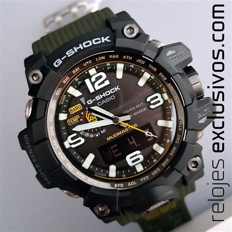 G Shock Gwg 1000 Black White Box casio g shock mudmaster gwg 1000 1a3er relojes exclusivos