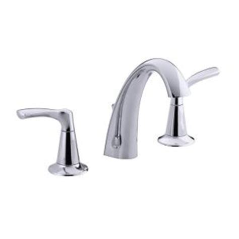 kohler mistos bathroom faucet kohler mistos 8 in widespread 2 handle bathroom faucet in polished chrome k r37026 4d