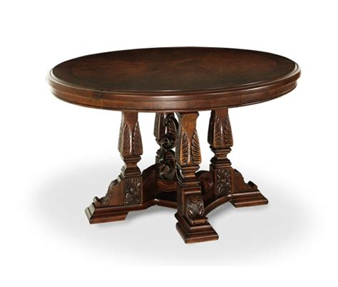 michael amini court fruitwood traditional
