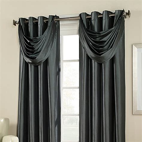 argentina curtains bed bath and beyond buy argentina room darkening waterfall valance in peacock