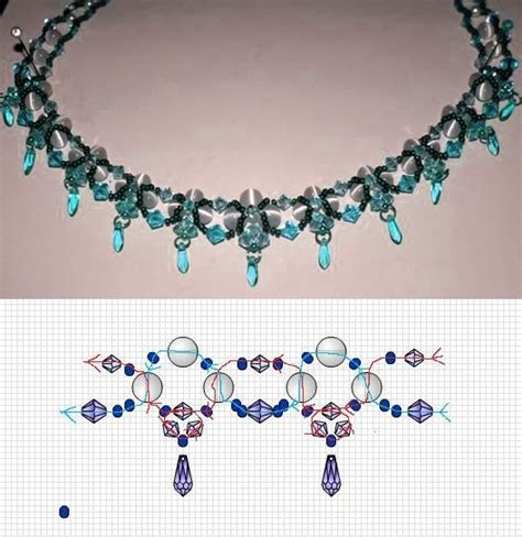 necklace pattern pinterest free bead necklace pattern beaded necklace patterns