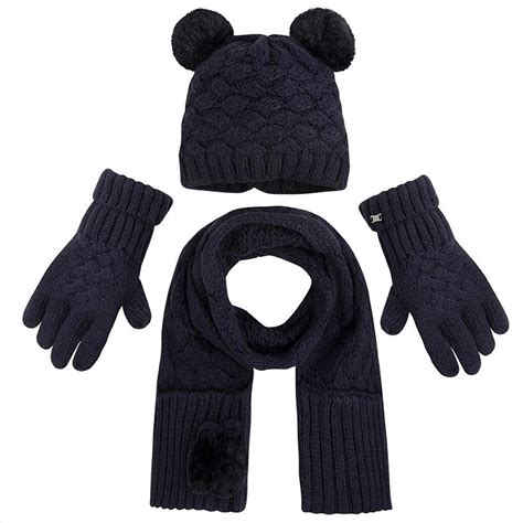 mayoral hat scarf gloves set navy from designer