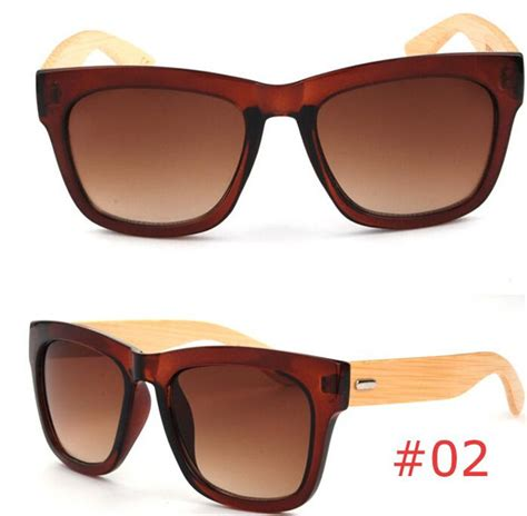 Mixed Request 21 500 G new high quality handmade bamboo sunglasses