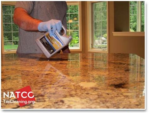 Sealing A Granite Countertop by How To Seal A Granite Countertop