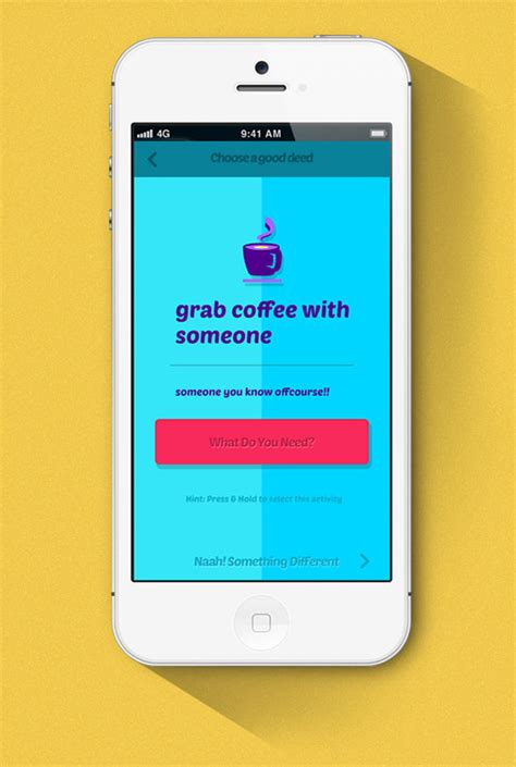 Design Inspiration Iphone | do something good iphone app design for inspiration