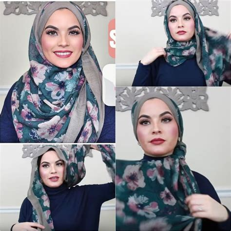 tutorial hijab new 202 best hijab tutorials images on pinterest hijabs