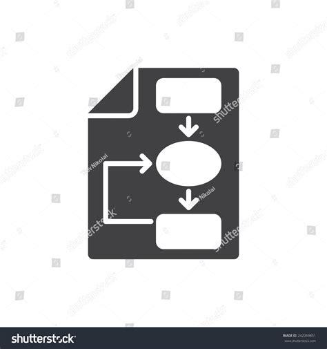vector plan blue print flat design stock vector business plan icon flat design stock vector 242069851