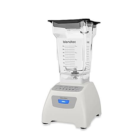 blendtec bed bath and beyond buy blendtec 174 classic 575 blender in white from bed bath