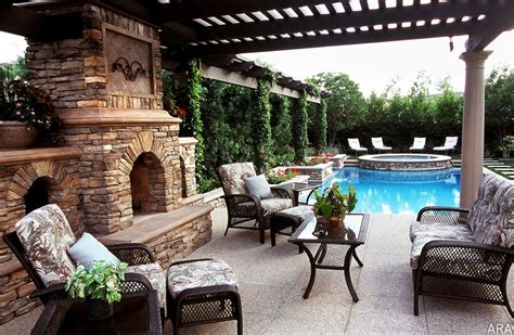outdoor backyard richard ferrel designs low maintenance backyard ideas