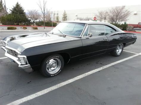 chevy impala 1967 for sale black buy new 1967 chevy impala black mostly resored in