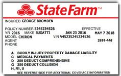 state farm business credit card rentals and luxury car rentals faq
