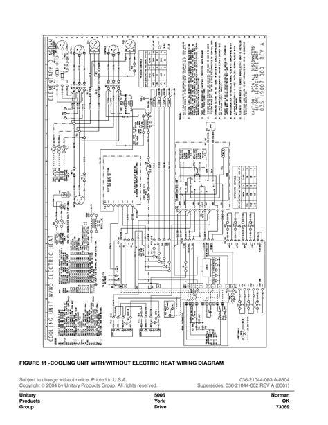 york condensing unit wiring diagram wiring diagram manual