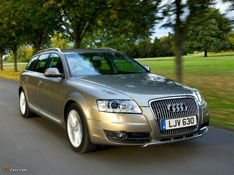 Pictures of Audi A6 Allroad 2.7 TDI quattro UK spec (4F,C6) 2008?11 (1024x768)