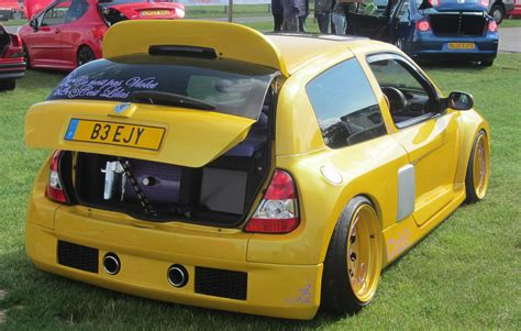 Auto Tuning Yeovil by Renault Clio Modified Auto Cars